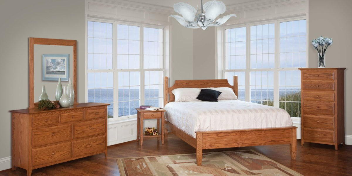 English Shaker Bedroom Collection